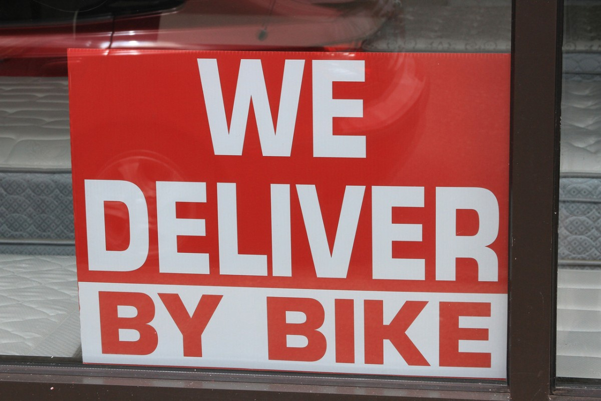 Delivered by Bike